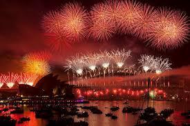 sydney harbour fireworks 2013