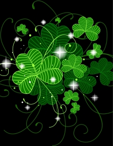 shamrocks for st patrick's day